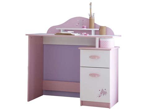 petit bureau fille bureau enfant papillon vente de bureau conforama