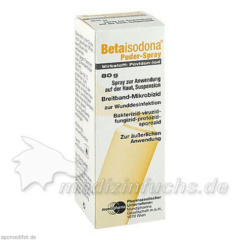 betaisodona puder spray   preisvergleich