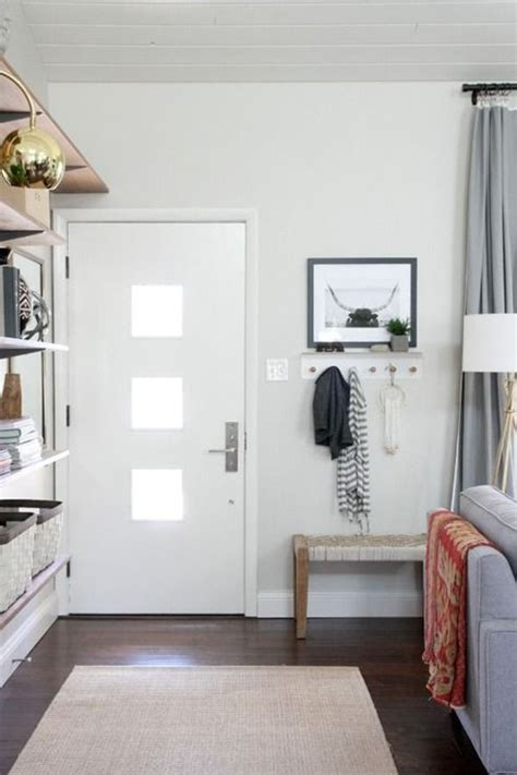 Living Room Entryway Design by 45 Hacks For Small Space Living Organizing Home