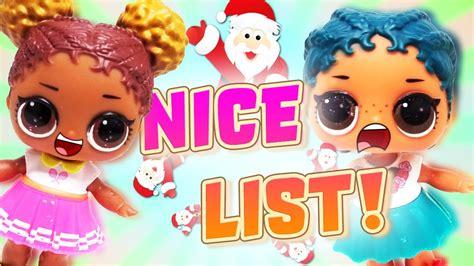 Lol Surprise Dolls Get On Santa's Nice List! Dollface