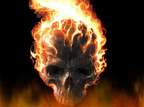 fire skull wallpaper gallery