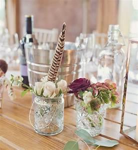 Pot En Verre Deco : d coration champ tre pour un mariage de r ve plus de 110 ~ Melissatoandfro.com Idées de Décoration