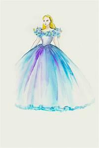 Cinderella: The Making Of Lily James Cinderella Costume By ...  Cinderella