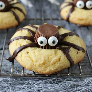 Easy Halloween Spider Cookies - Page 2 of 2 - Princess
