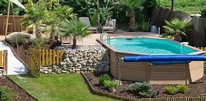 comment bien choisir sa piscine quel materiau quelles With jardin en pente que faire 15 quel type de maison contemporaine choisir