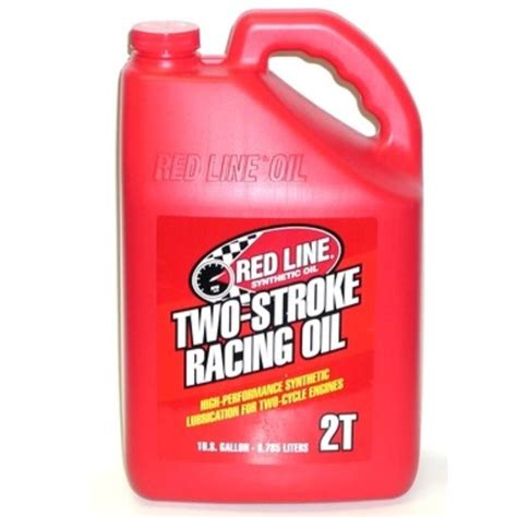 red  synthetic  stroke racing oil  gallon
