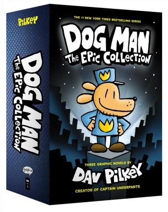 dog man    epic collection dav pilkey