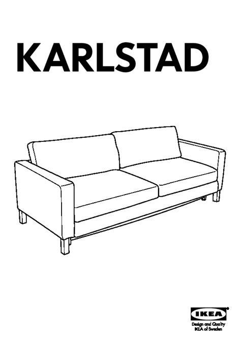 karlstad canap karlstad canapé lit avec rangement blekinge blanc ikea