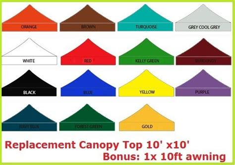pop   replacement instant ez canopy top cover