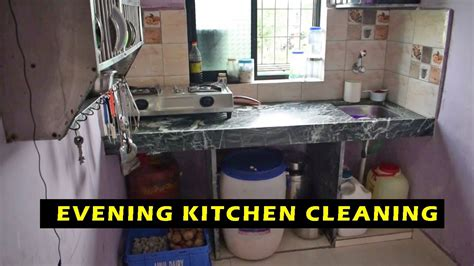 small indian kitchen kitchen  organize