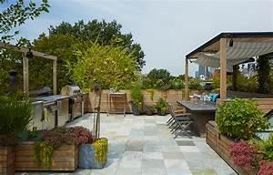 LBR HOME – Brooklyn Heights Roof Deck Garden & Kitchen