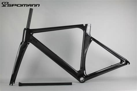 get cheap carbon fiber road bike frame black