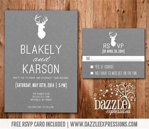 wedding invitations with rsvp cards included theruntimecom With wedding invitations how long to rsvp