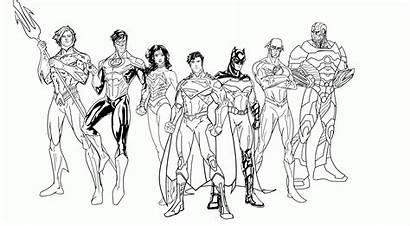 Coloring Superhero Pages Pdf Super Hero Popular