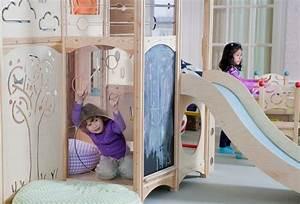 Spielbett Mädchen : kinderbett im babyzimmer 37 mitwachsende spielbetten ~ Pilothousefishingboats.com Haus und Dekorationen