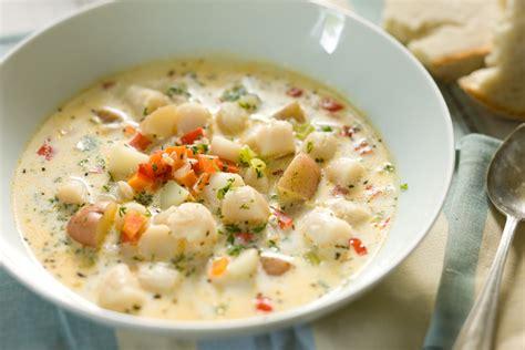 bay scallop chowder recipe relish