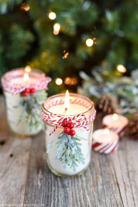 ideas  decorar  velas en navidad
