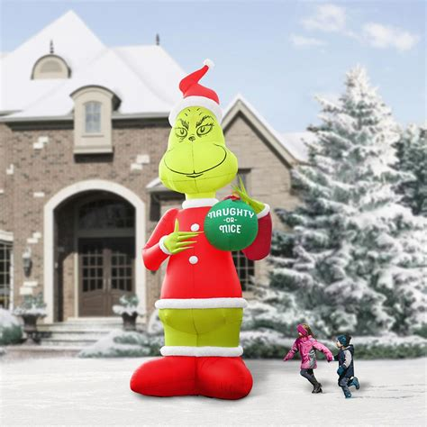 story inflatable grinch