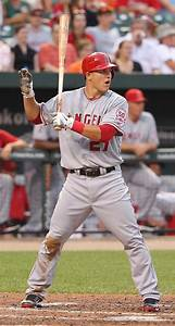"Shades Of ""The Natural"": Mike Trout"