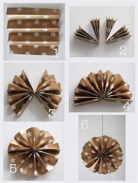 diy paper christmas ornament pictures   images