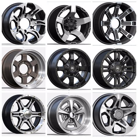 Car Wheels Types