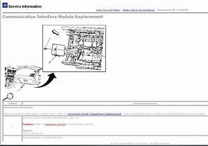 Onstar Wiring Diagram