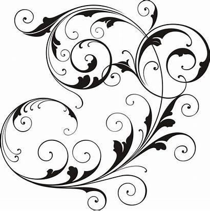 Clip Clipart Scroll Designs Simple Scrolls Fancy