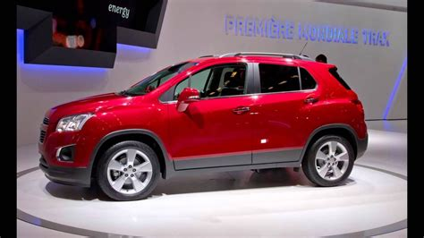 2016 Chevy Trax Concept Review Redesign Rendering Price