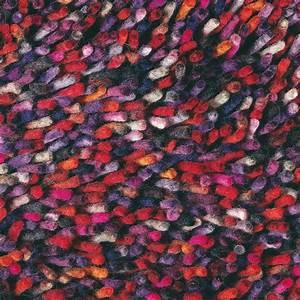 tapis shaggy violet multicolore rocks mix brink campman With tapis shaggy multicolore