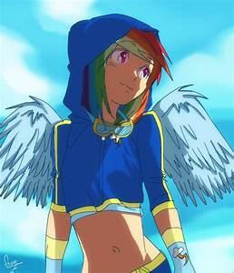 my little pony rainbowdash | anime version | Pinterest ...