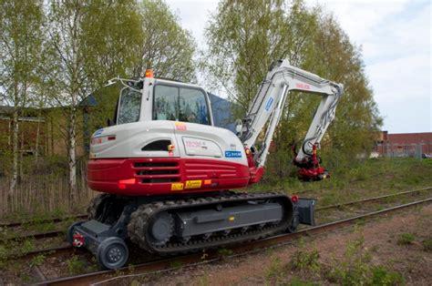web res takeuchi tb  excavator hy rail semco group