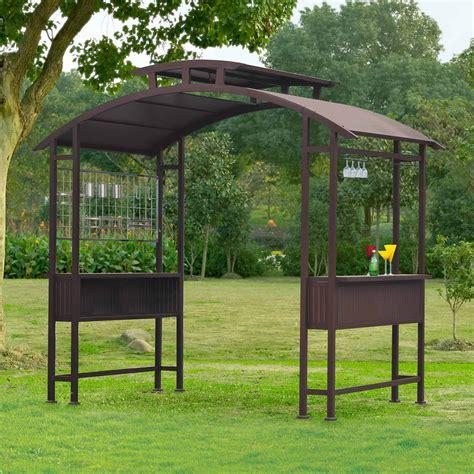 10x12 shed sunjoy cecelia grill gazebo shop your way