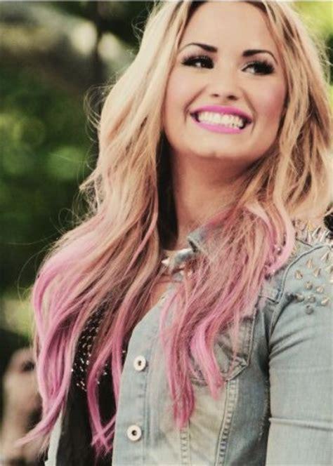Demi Lovato Hairstyles Ombre Waves Pretty Designs
