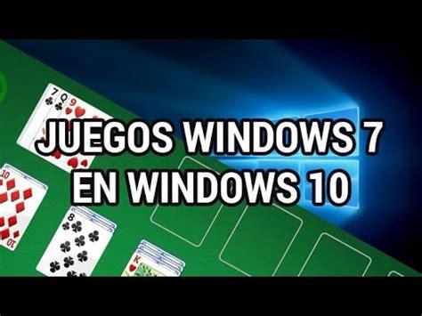 Cómo medir el rendimiento de un juego en windows 10. Recuperar los juegos de Windows 7 en Windows 10 www ...