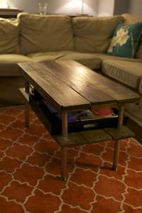 how to build a rustic wooden coffee table from scratch With how to build a rustic coffee table