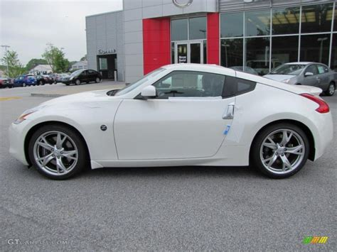 Pearl White 2018 Nissan 370z Sport Coupe Exterior Photo