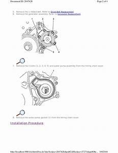 34 2009 Toyota Corolla Serpentine Belt Diagram