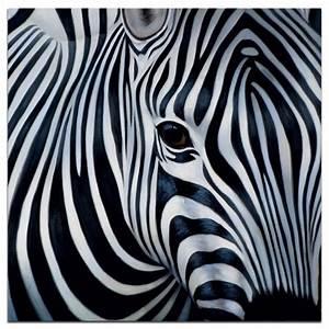 Tableau Photo Noir Et Blanc : animaux tableau acrylique carr noir blanc 75x75 z bre ~ Melissatoandfro.com Idées de Décoration