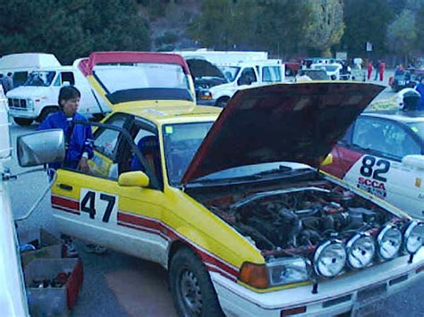 Tree Line Scca Pro Rally 1198