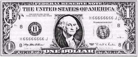 five dollar bill clipart black and white matrix of power