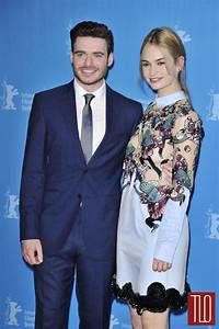 "Richard Madden and Lily James at the ""Cinderella"" Berlin ..."