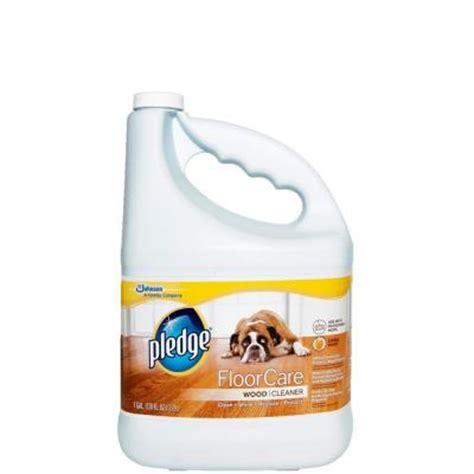 Hardwood Floor Cleaner Home Depot by Pledge 128 Oz Wood Floor Cleaner 605896 The Home Depot