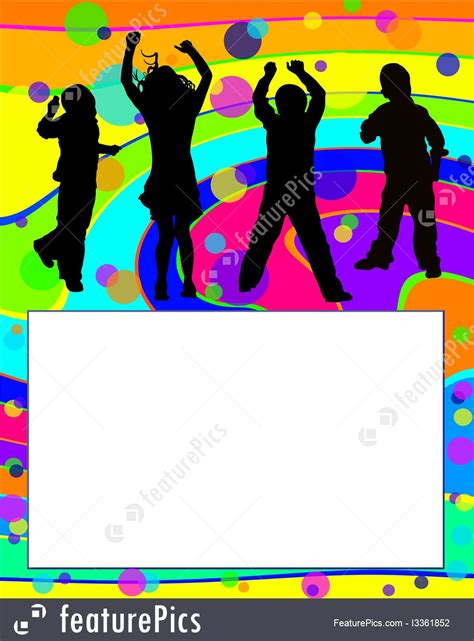 cards  posters party invitation stock illustration