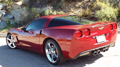 monterey red metallic corvette  sale