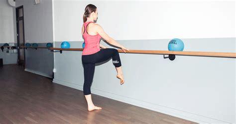 best ballet barre workout 5 ballet barre exercises the coveteur coveteur