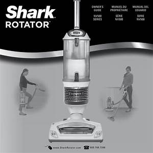Shark Rotator Professional Lift Away Nv501 Users Manual