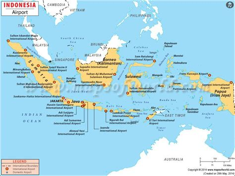 indonesia airports maps pinterest indonesia