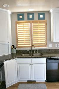 white painted kitchen cabinet reveal 1033