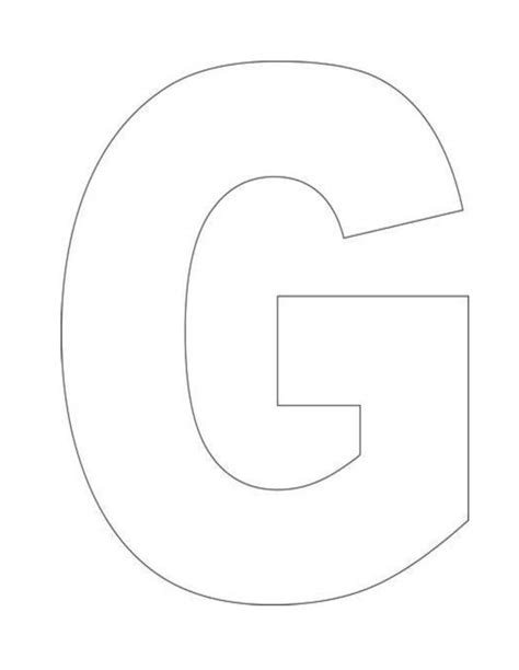 letter g template printable alphabet letter g template alphabet letter g templates are gracie