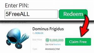 The New Roblox Gift Code Lets You Buy Any 5 Items Free